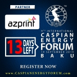 """Azprint"" стала партнером Caspian Energy Forum Baku – 2019"