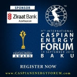 Ziraat Bank Azerbaijan OJSC becomes sponsor of Caspian Energy Forum Baku – 2019